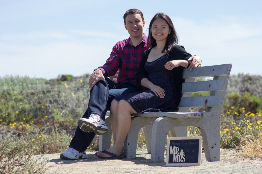 John and Monika - Weddding Engagement, May 2016 in Montaña de Oro